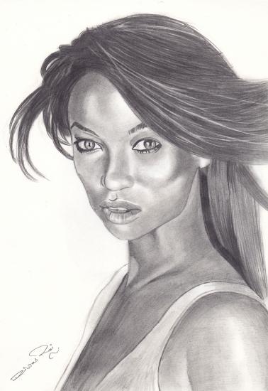 Tyra Banks par Diwas